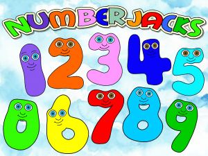 Numberjacks Colouring Pages In This Video Wally Encourages Kids To Learn Counting And Have Fun Coloring Numbers Coloring Pages Colouring Pages Color