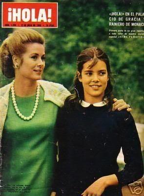 Cover of Hola  Princess Grace and Princess Caroline
