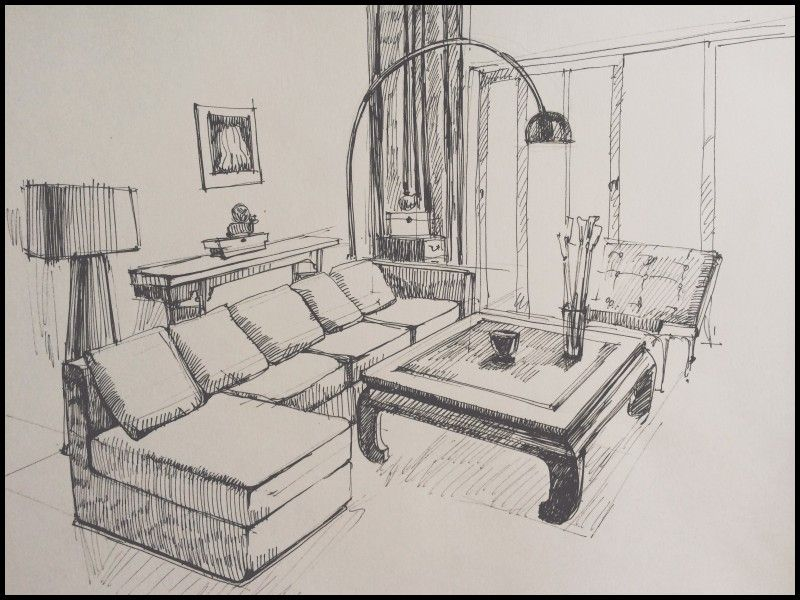 Inspirational Interior Design Pencil Drawing Interior Design Sketches Interior Design Drawings Interior Sketch