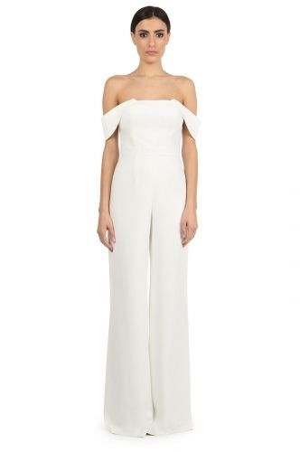 67d89e0382a BRIN LIGHT IVORY OFF-SHOULDER JUMPSUIT from Jay Godfrey