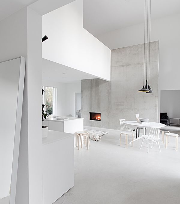 Maja Scandinavian Loft-style living