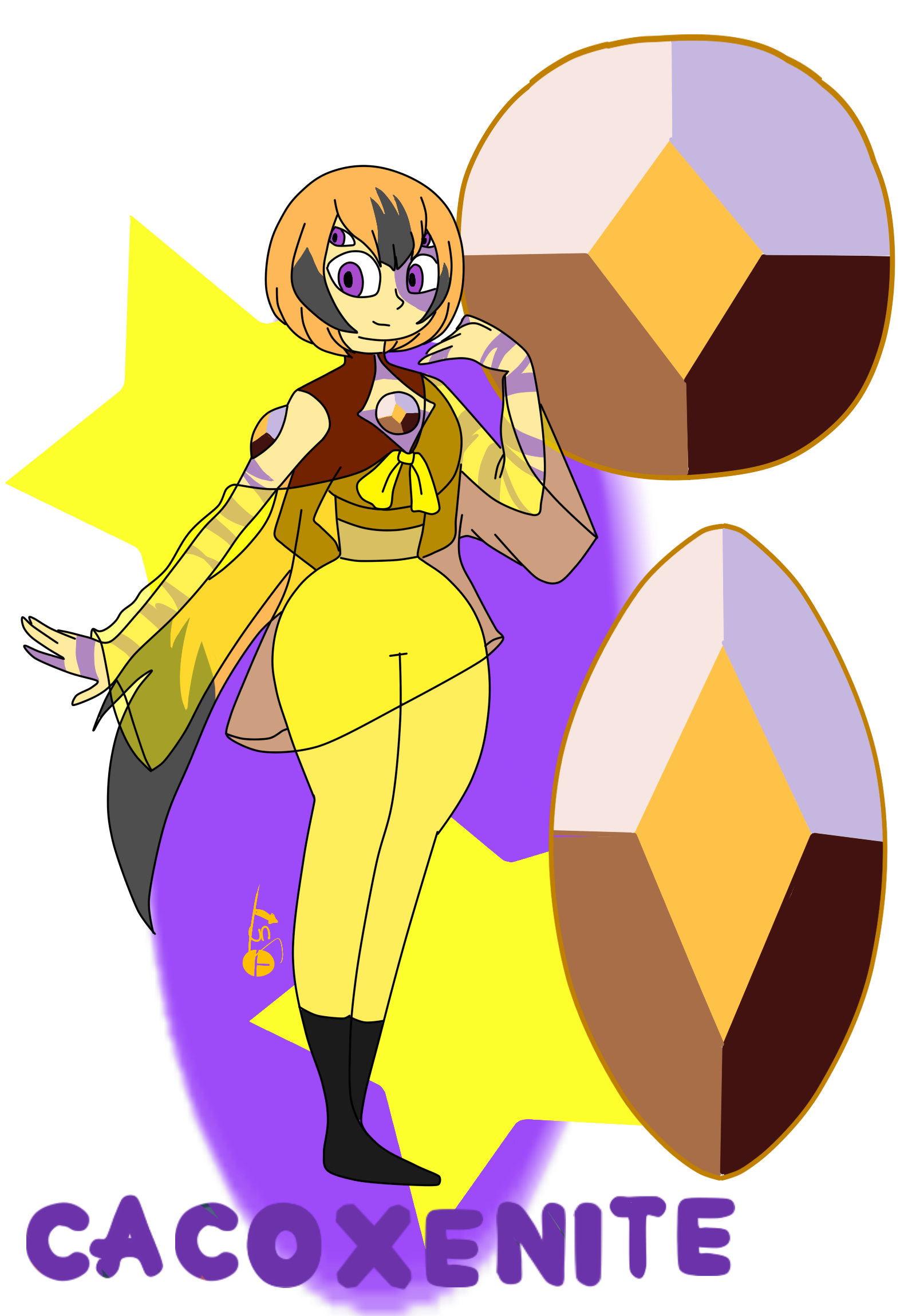 Gemsona Fusion Cacoxenite Fanfiction Crystalia - Capítulo 25