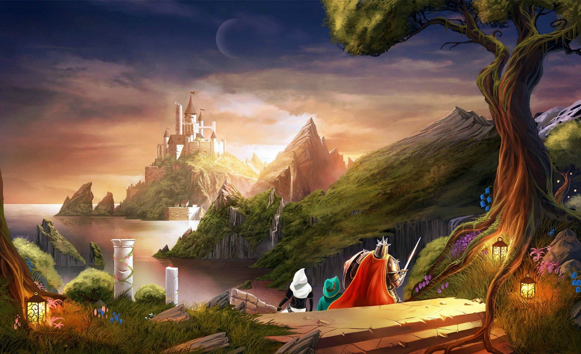 trine for mac computers 1966x1200 Cartoon wallpaper, Art