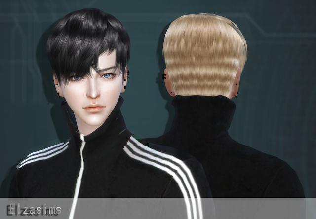 Sims 4 CC's - The Best: Male Hair by Elzasims | Sims 4 ...Korean Toddler Hair Sims 4
