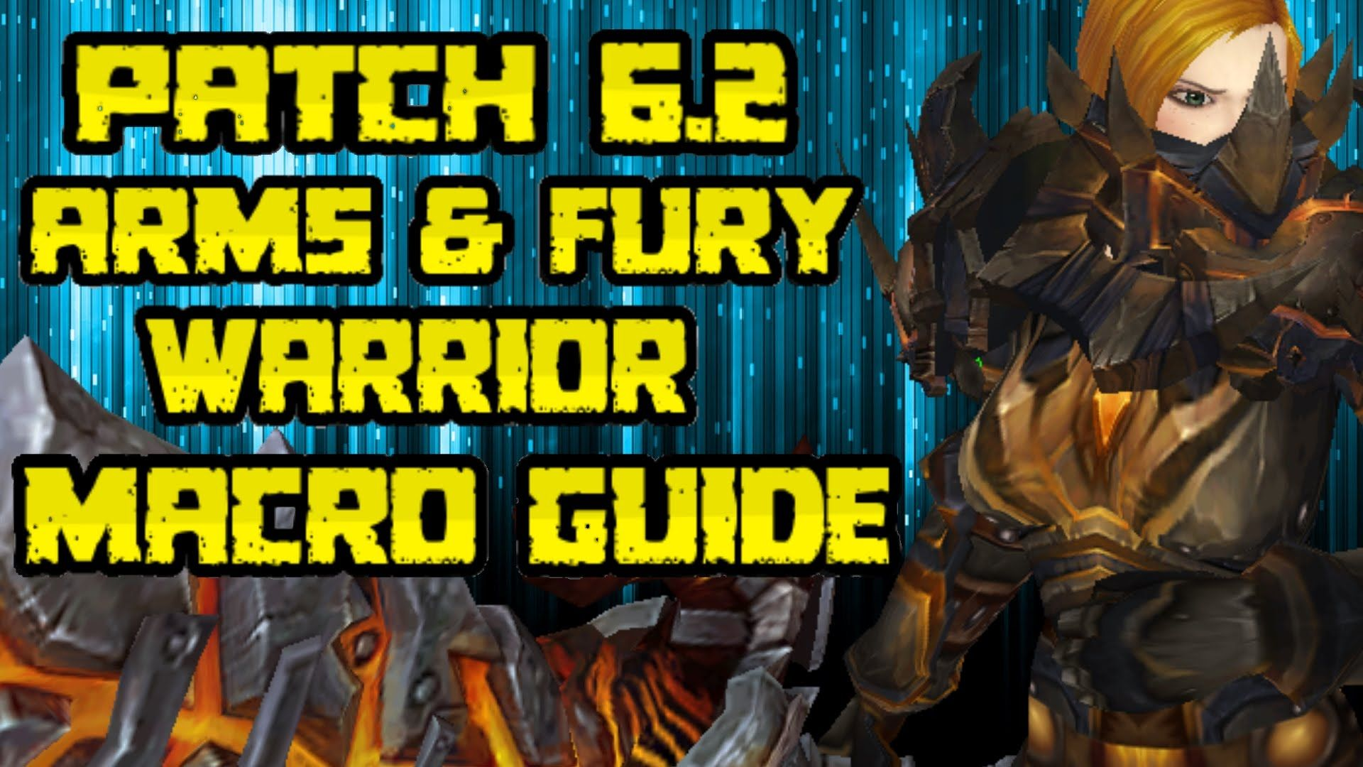 amazing Evylyn - 6 2 3 level 100 Arms & fury Warrior macros