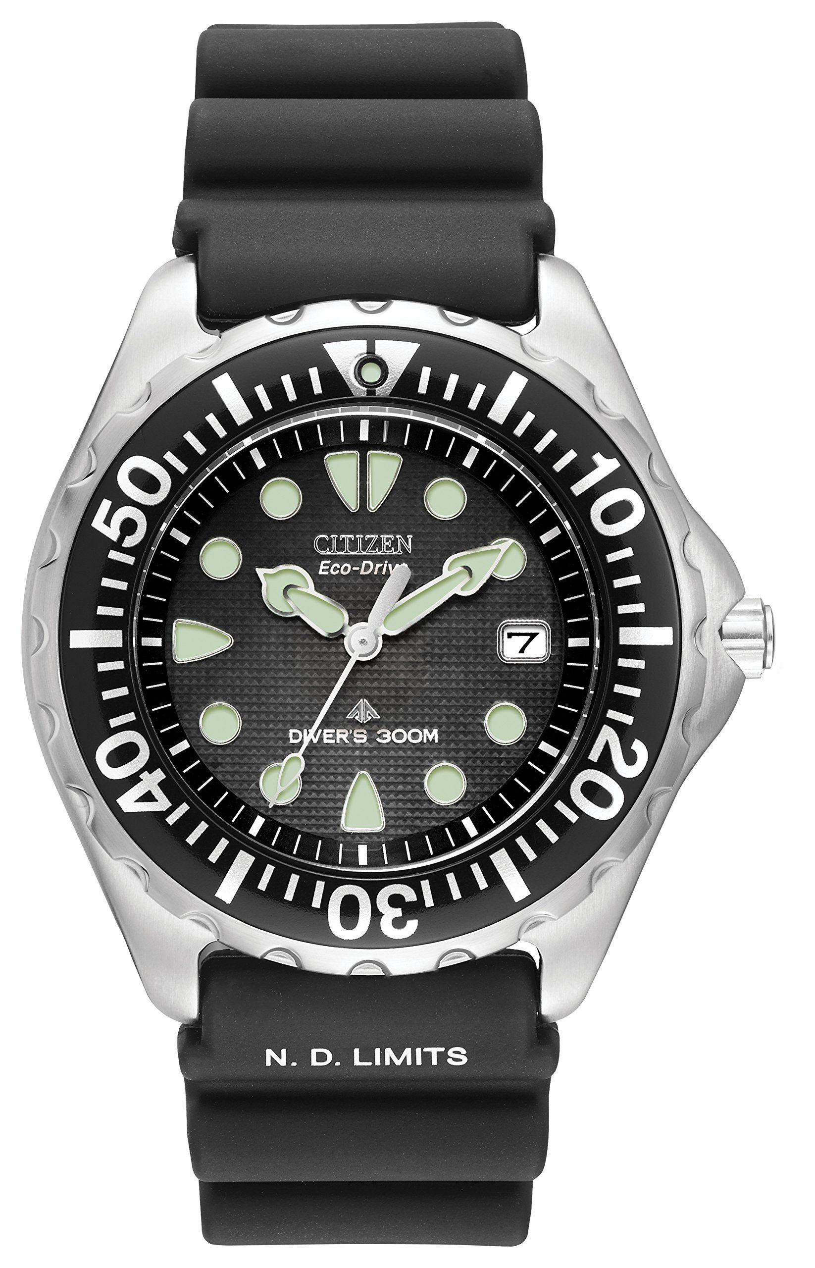 5fd6a4cfd30 Citizen Men s Eco-Drive 300 Meter Professional Diver Watch  BN0000-04H   Citizen  Amazon.co.uk  Watches