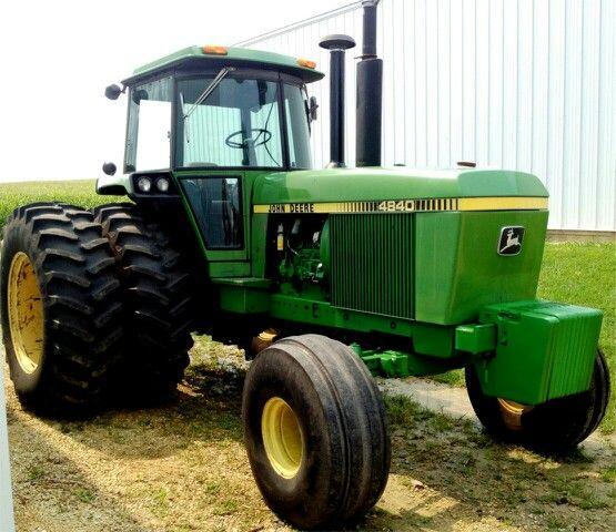 1980 JOHN DEERE 4840 | John Deere | Pinterest | Traktoren