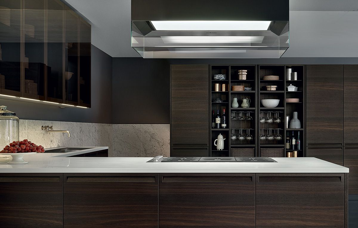 Minimal Kitchen Cabinetry Designed By Poliform Switch