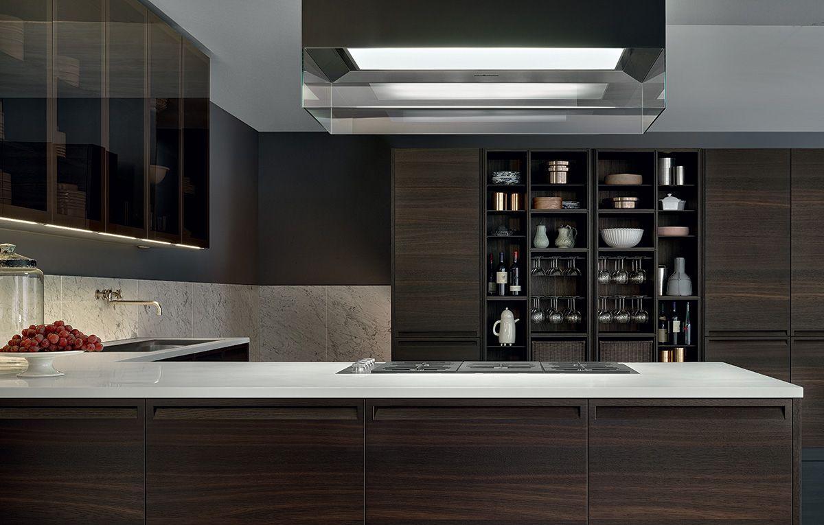 minimal kitchen cabinetry designed by poliform switch modern in