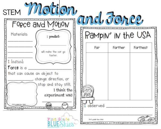 Motion & Force | Science, S.S., & Health | Pinterest | Simple ...