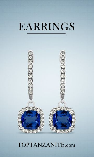 Get a unique collection of tanzanite earrings and wedding band at toptanzanite.com.