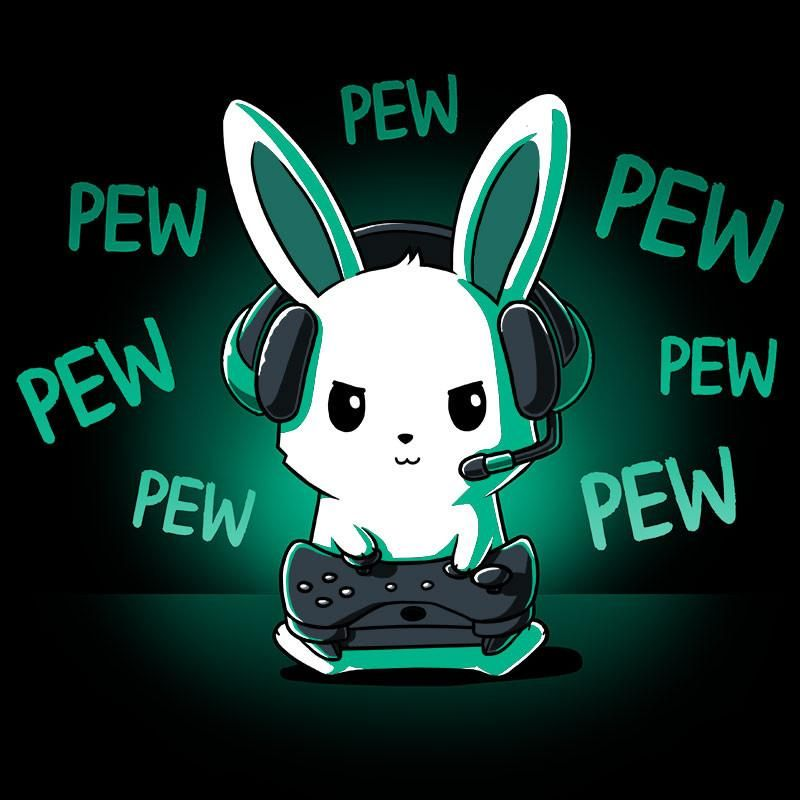 6b4236eb0 Pew Pew Bunny t-shirt TeeTurtle | F a s h i o n ♥ | Kawaii drawings ...