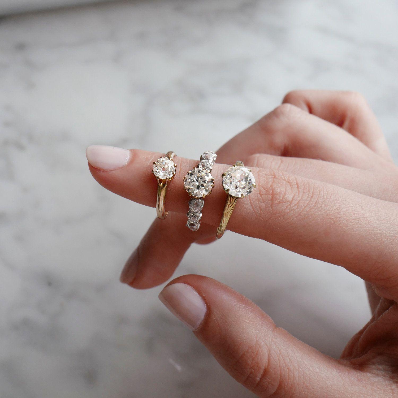 OLIVET ENGAGEMENT RING — Ashley Zhang Jewelry Engagement