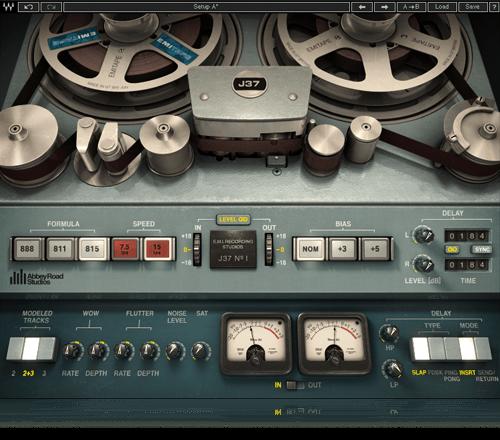 J37 Tape Saturation Plugin Waves Waves Audio Waves Plugins Audio Waves