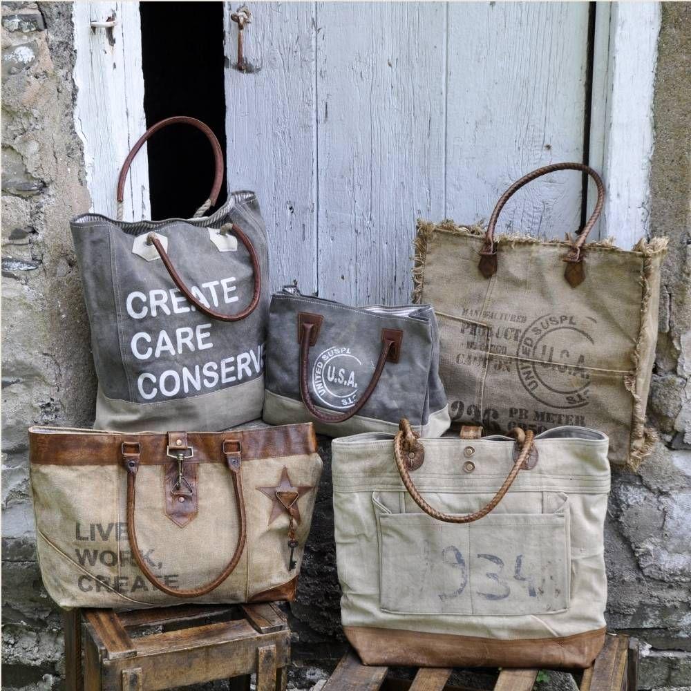 Vintage Stamp Fringe Tote Africa Bags Canvas Handbags