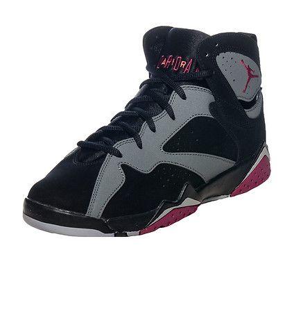 low priced 92301 a68f9 JORDAN Girl s Air Jordan Retro 7 High top sneaker Lace up closure Nubuck  suede body Padded tongue with JORDAN jumpman logo Cushioned inner sole for  comfort ...