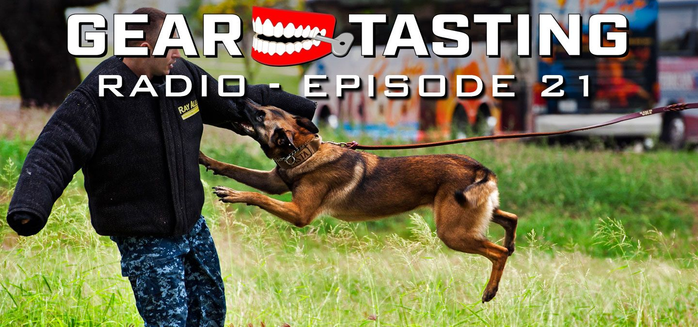 Training Your K 9 With Former Seal Mike Ritland Gear Tasting