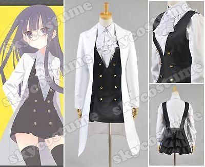 Inu x Boku SS Shirakiin Ririchiyo Girl Uniform Cosplay Costume