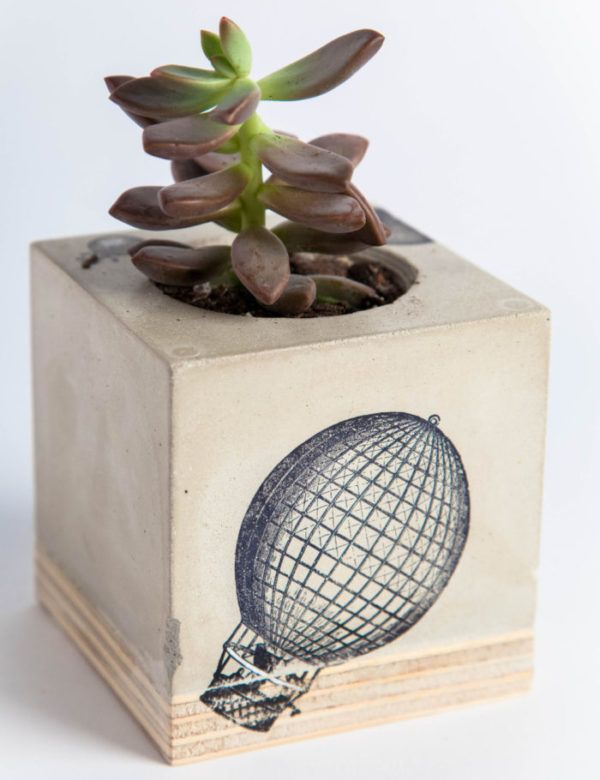 Hot Air Balloon Planter Available In Store Concrete Planters