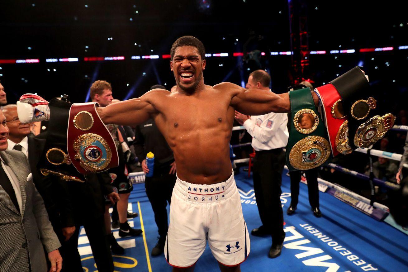 Boxing Tv Schedule For May 30 June 1 Anthony Joshua Anthony Joshua Vs Tyson Fury