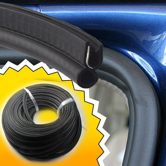 flexible rubber u channel trim for automotive window