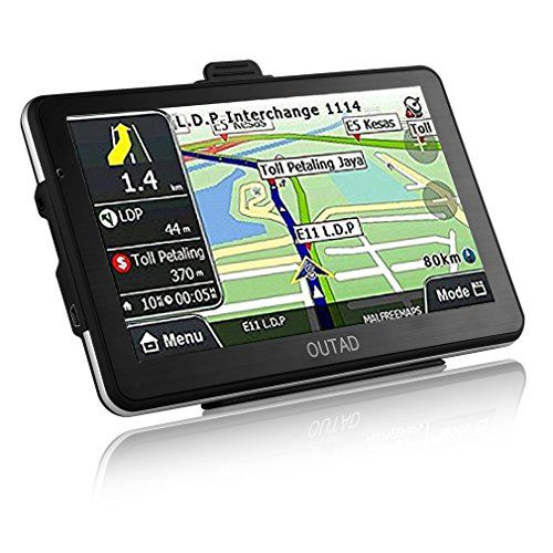 Car Gps Navigation Outad 7 Inch Touchscreen Voice Reminding