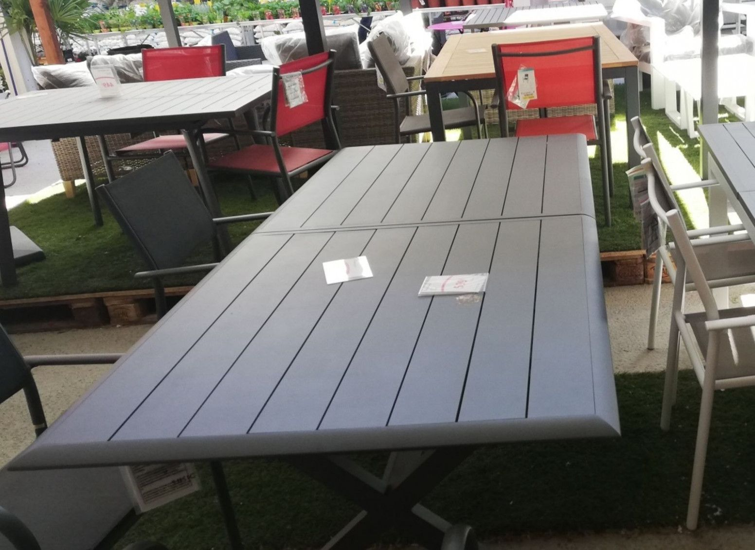 Table De Jardin Mr Bricolage Outdoor Tables Picnic Table Outdoor Decor