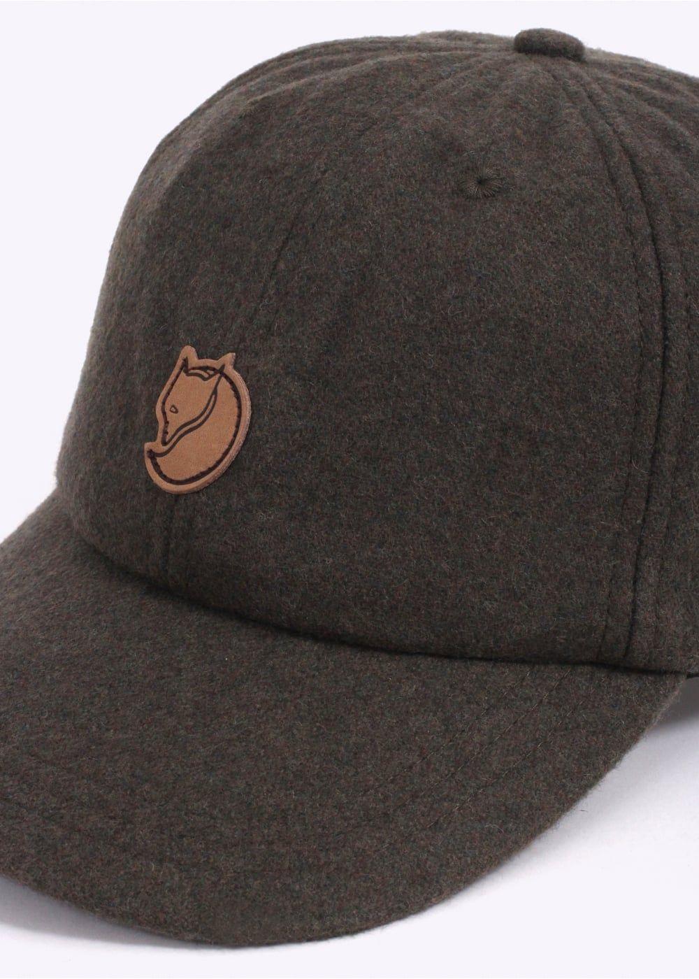 c1aefb40022fd Fjallraven Ovik Wool Cap - Dark Olive