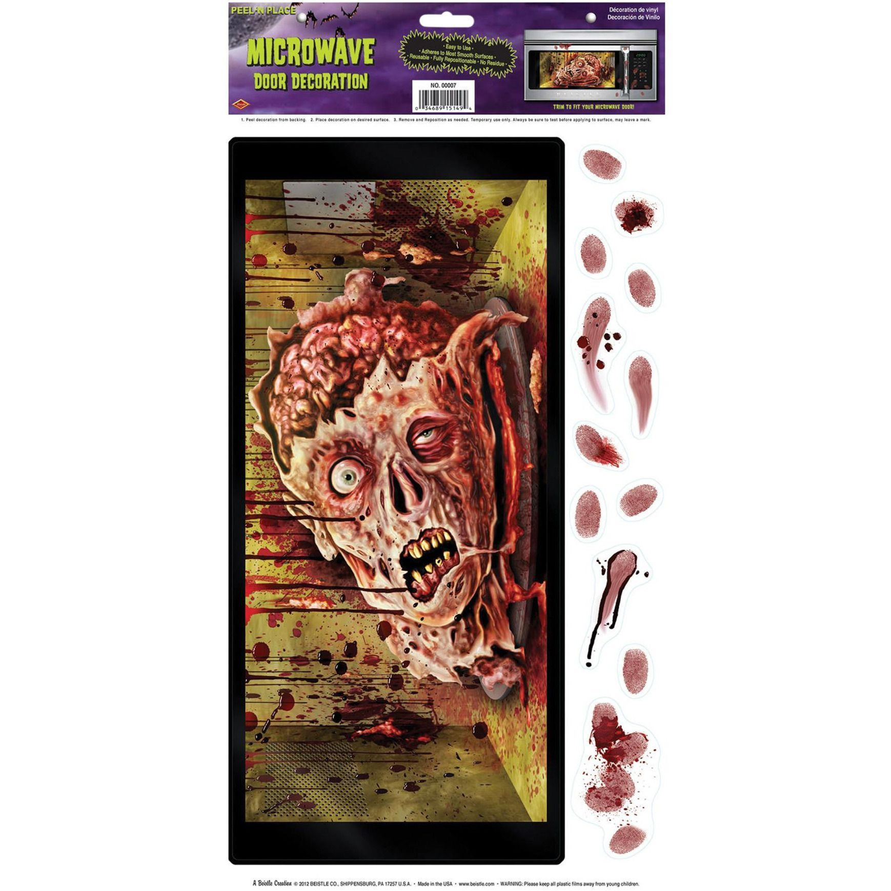 Halloween Microwave Door Decor The Best Halloween Party - door decoration halloween