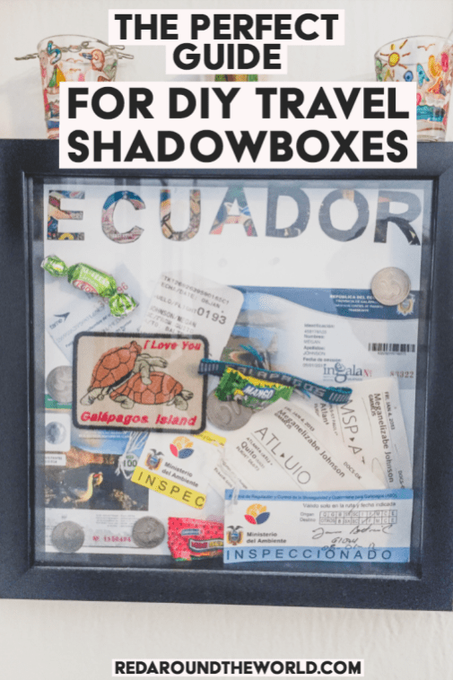 Diy Travel Shadow Box Ideas To Help Preserve Your Memories Travel Shadow Boxes Travel Diy Shadow Box