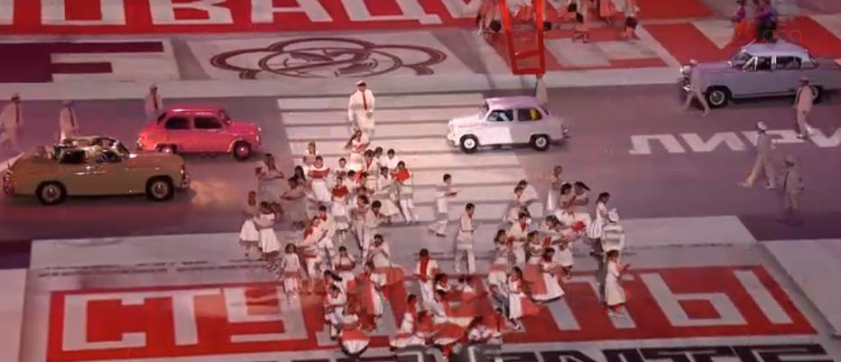 50's Sochi 2014 Olympics openingceremonies http
