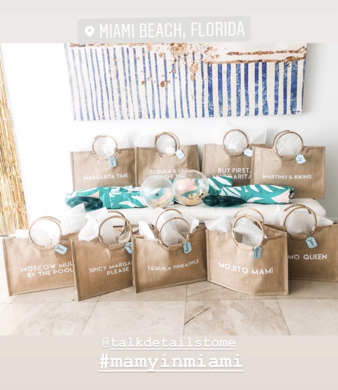 Destination Wedding Gift Ideas: Shop Customizable Beach Totes $25 USD • Free Shipping