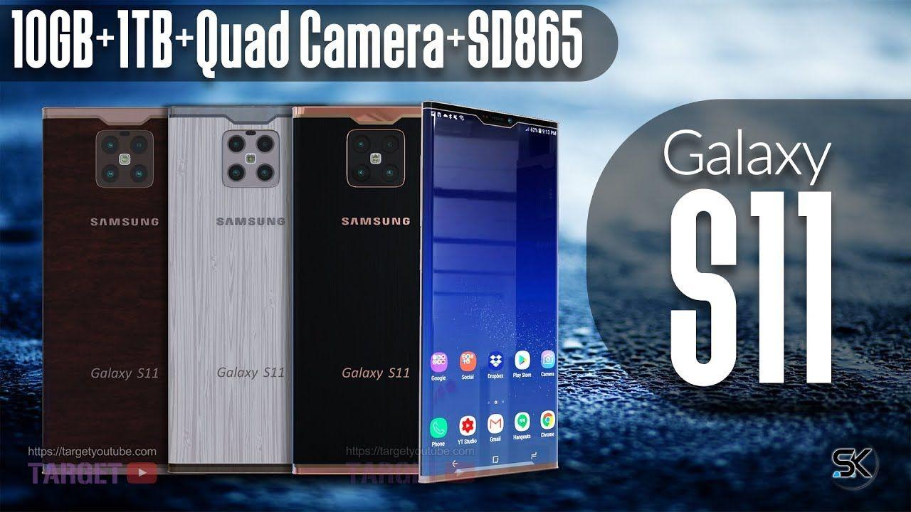 New Smartphones 2020 Samsun Galaxy S11 'CONCEPT' 2020   Samsung New Phone