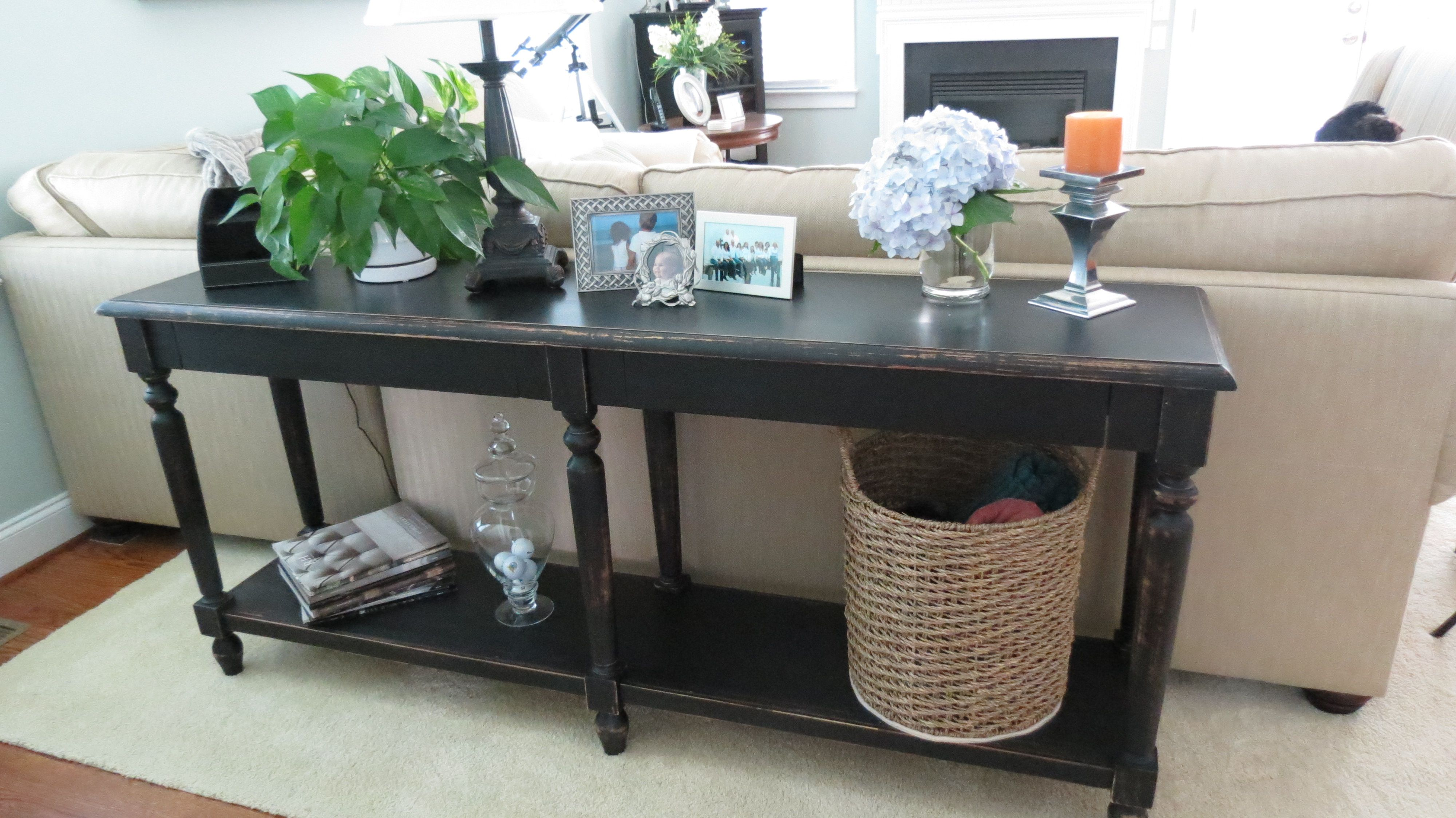 Foyer Table Distressed : Side tables entry table country foyer awesome