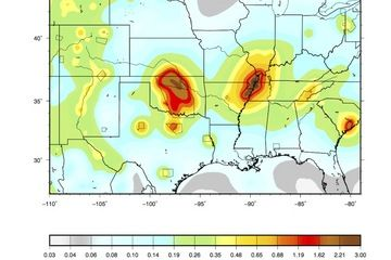Made Earthquakes Rising in US New Maps Show