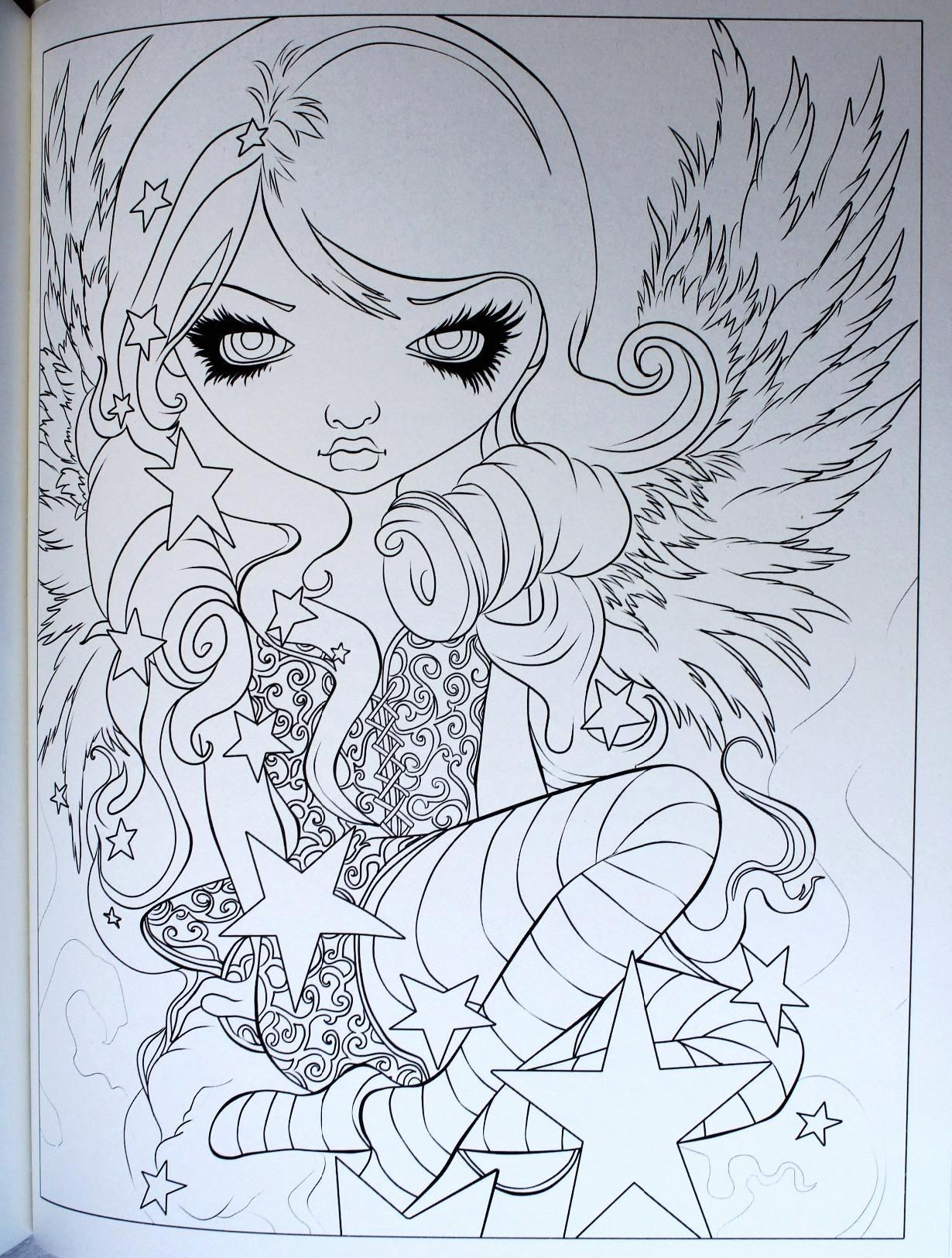 Jasmine Becket Griffith Coloring Book Best Of Amazon Jasmine Becket Griffith Coloring Book A Fantasy In 2020 Mermaid Coloring Book Coloring Books Fairy Coloring Pages
