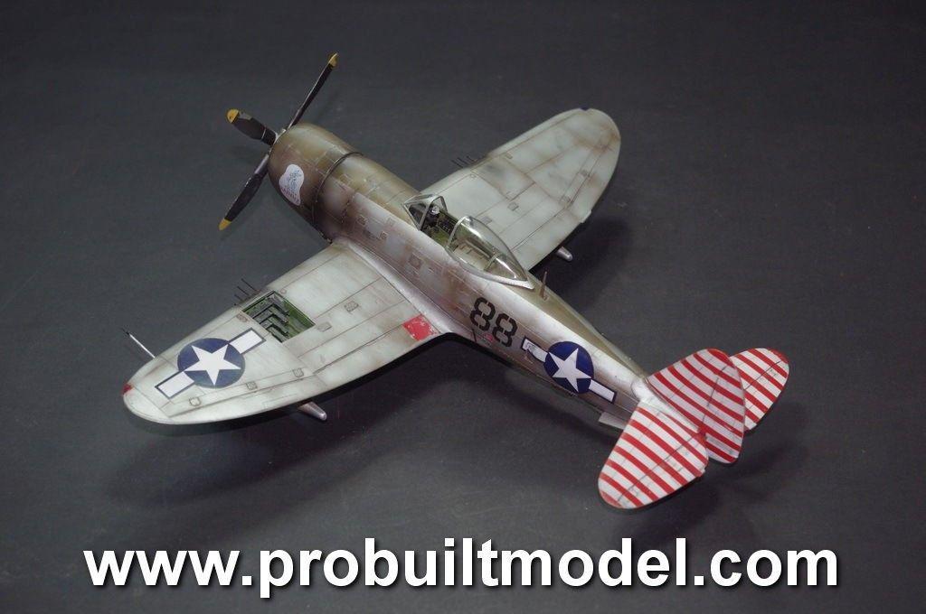 Republic P-47D Thunderbolt 1/48 Pro Built