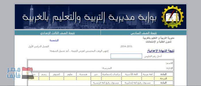 نتيجة الشهادة الإعدادية 2017 محافظة الغربية الترم الثاني من موقع مديرية التربية والتعليم وبواية فيتو Entertaining Pandora Screenshot Screenshots