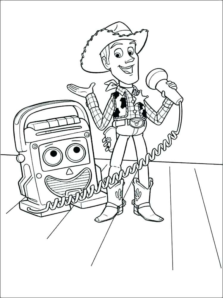 Woody Coloring Pages Toy story coloring pages, Cool