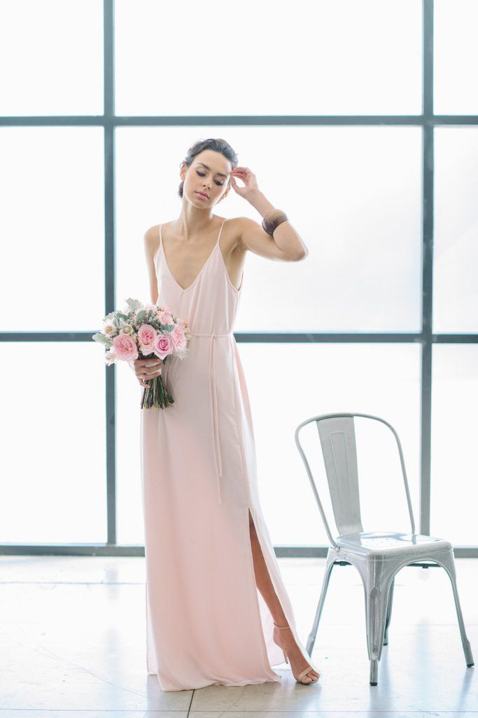 9 ways you can make your wedding millennial pink wedding for Millennial pink wedding dress