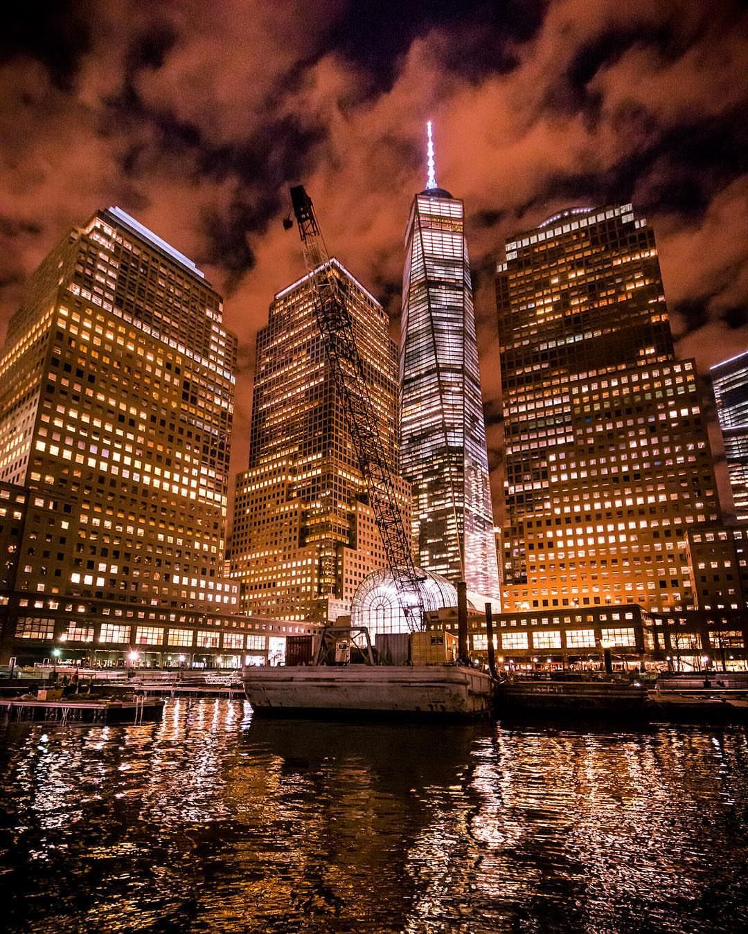 Lower Manhattan Looking Intense Late Last Night By Chief770