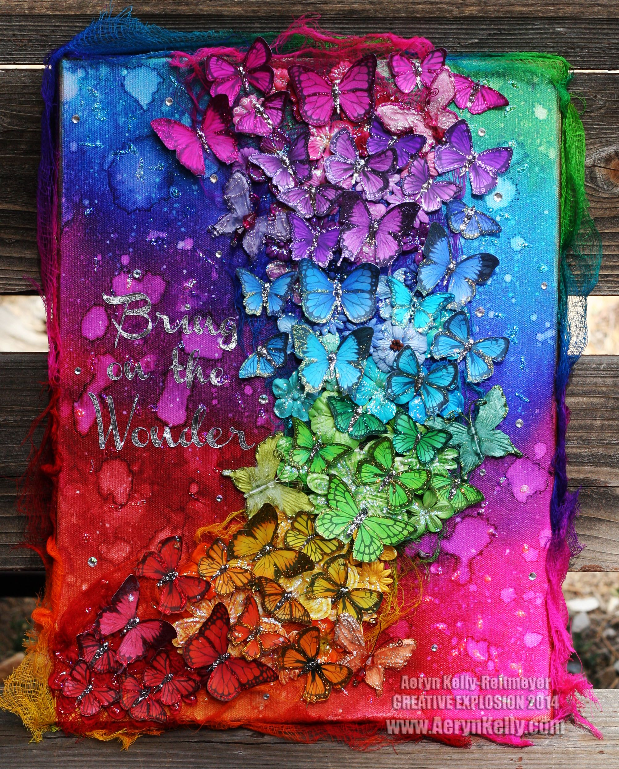 Creative Explosion Mixed Media Art Canvas Projects Crafts