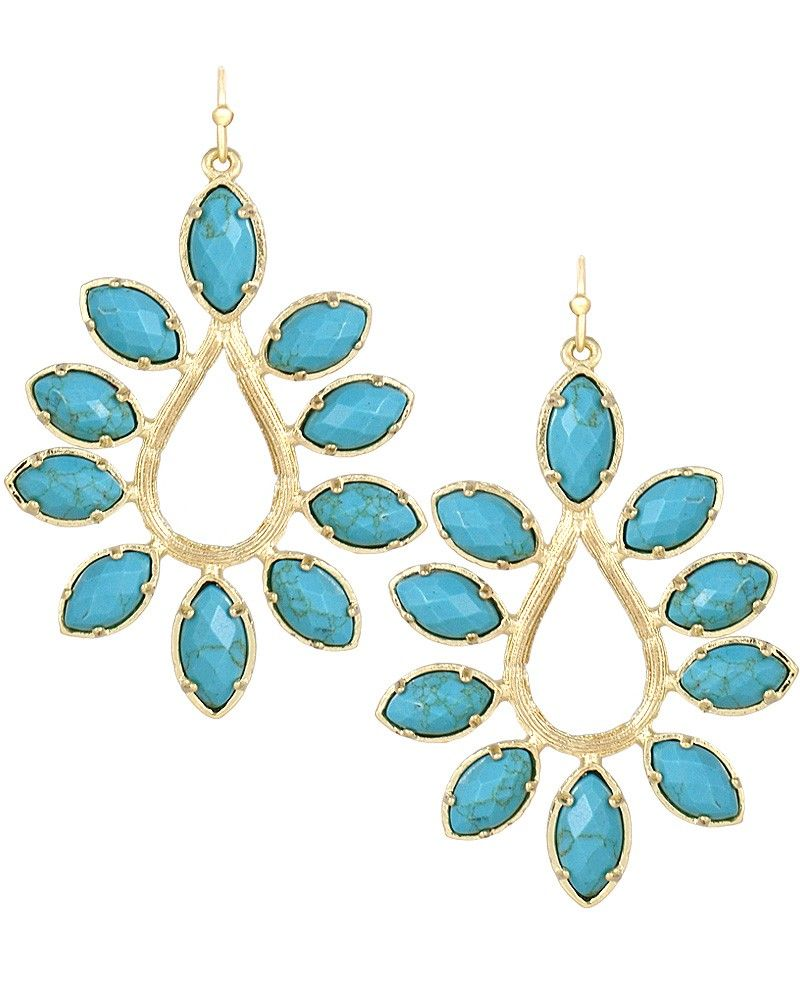 Nyla earrings in turquoise kendra scott jewelry accessories