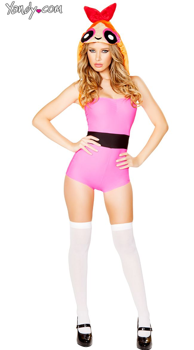 Pink Anime Girl Romper Costumes and Halloween costumes - halloween girl costume ideas