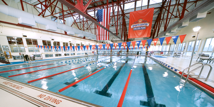 The Sports Center At Chelsea Piers Health Club New York City Nyc 10011 Swimming Indoor Pool Pool