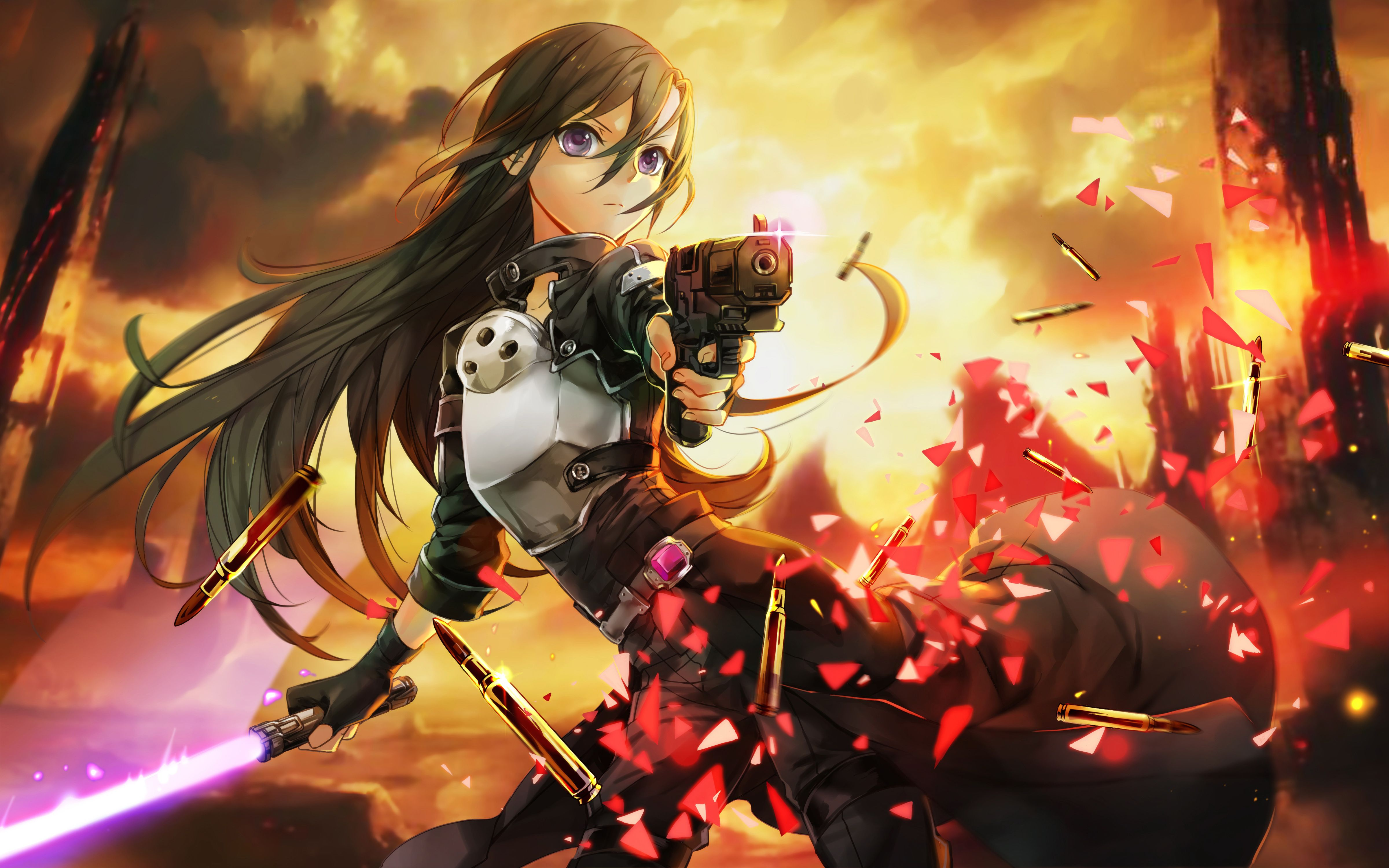 Fondos De Pc Anime: Sao Fondo De Pantalla Pc