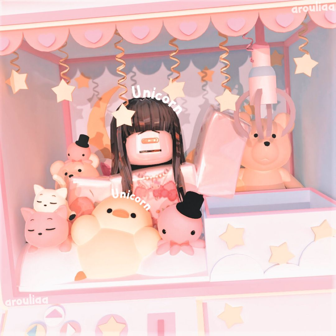 Made By Arouliaa On Tik Tok In 2021 Roblox Pictures Roblox Animation Molang Wallpaper