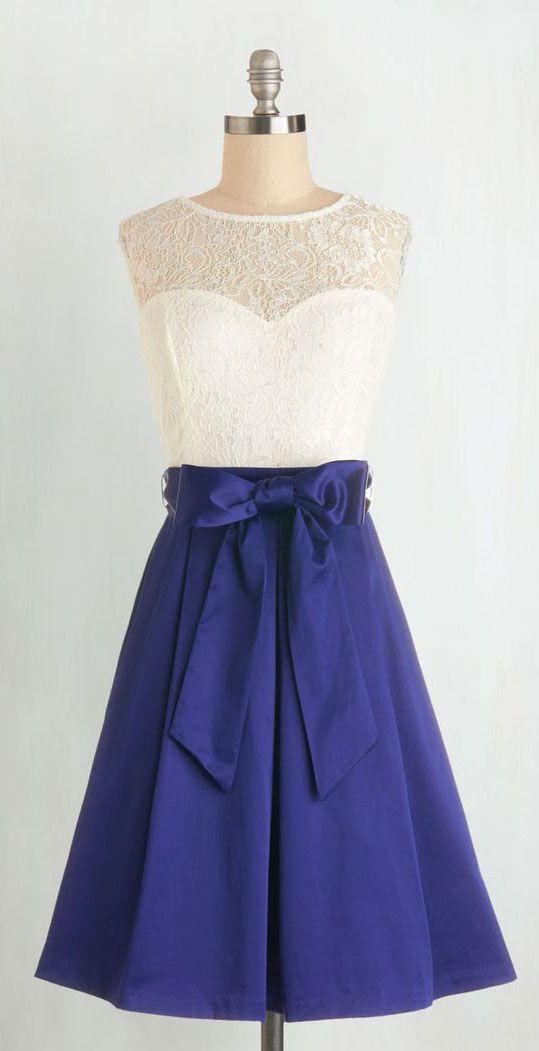 Nuanced Narrator Dress in Navy   dresses   Pinterest   Ropa femenina ...