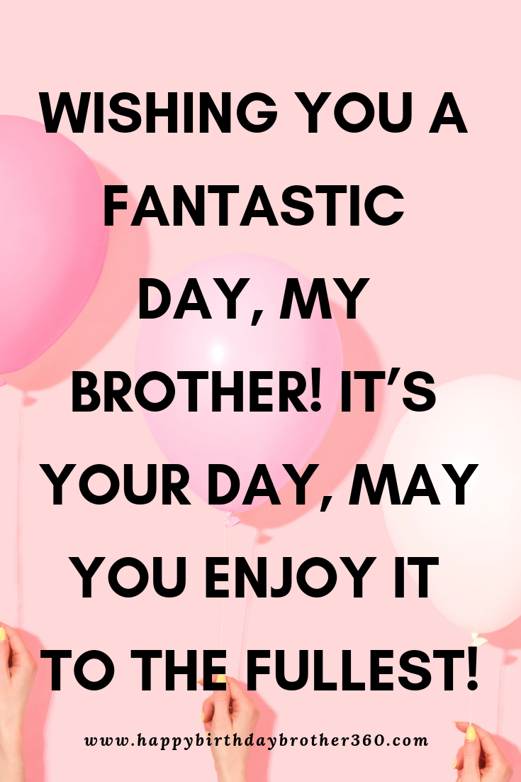 Birthday Wishes For Brother Brother Birthday Quotes Birthday