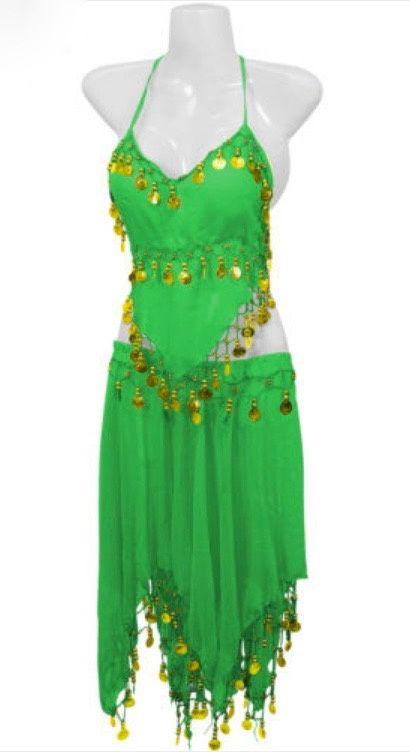 groene accessoires kleding